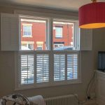 Tier On Tier Window Shutters in Cheadle